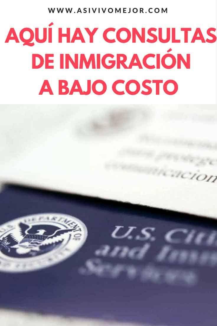 Consultas de inmigración a bajo costo en organizaciones sin fines de lucro
