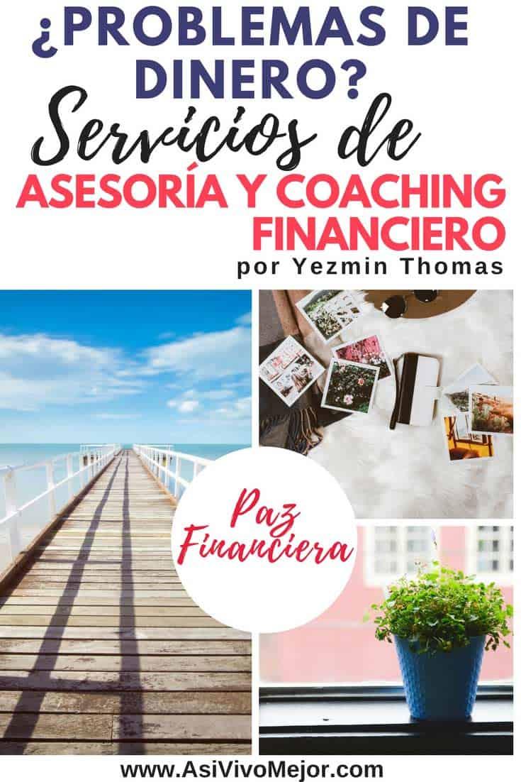 Asesoría y coaching financiero | Yezmin Thomas