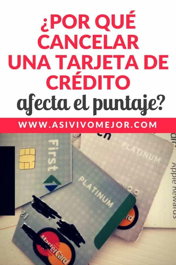 #41 Por qué cancelar una tarjeta de crédito afecta el puntaje