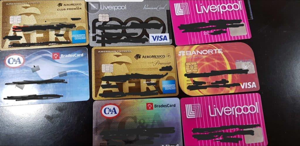 Reto financiero: Destroza las tarjetas de crédito