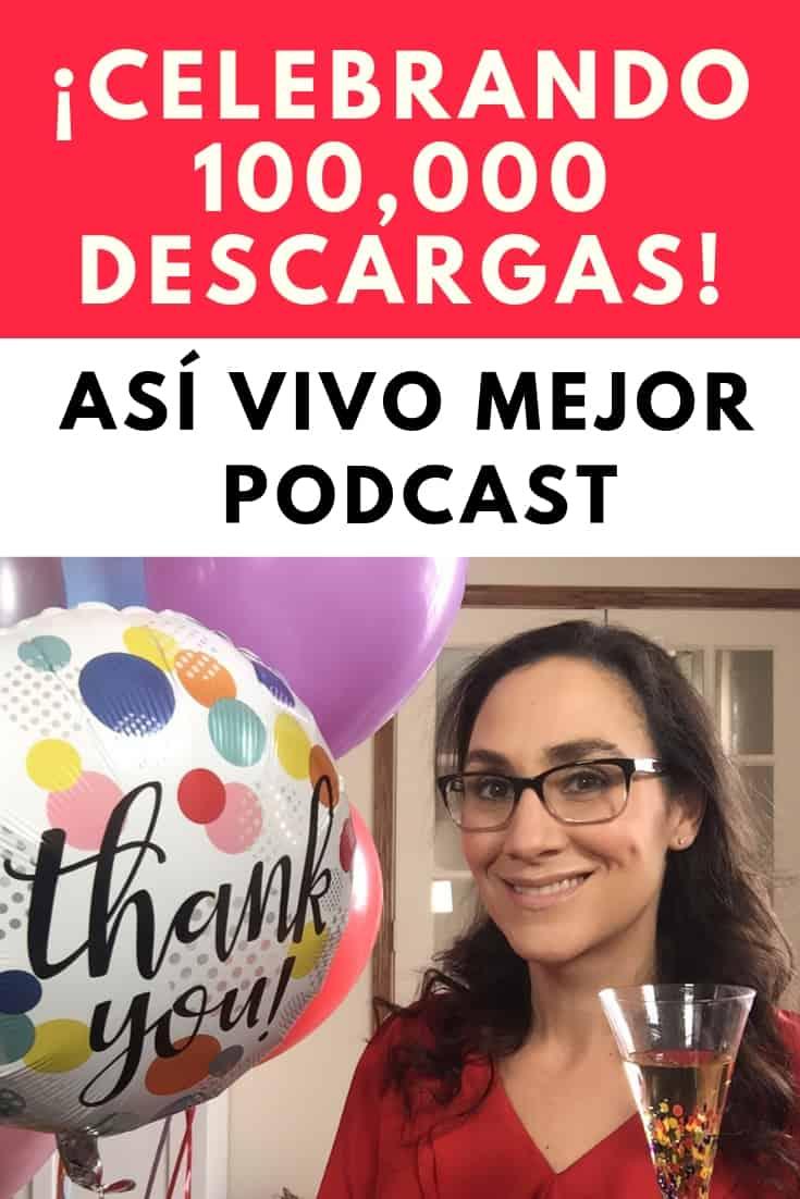 #73 Celebrando 100,000 descargas del Podcast