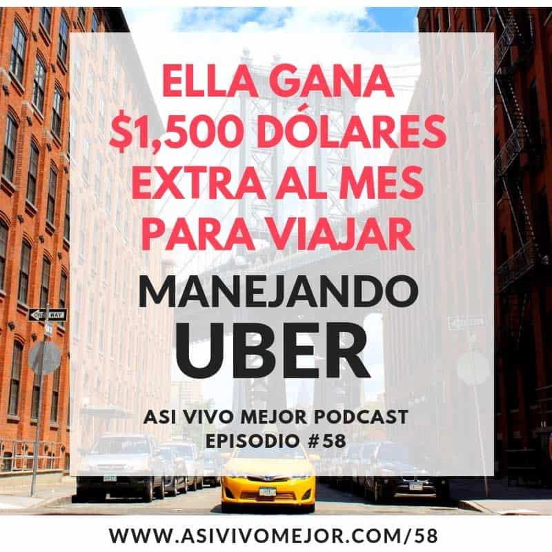 Cómo ganar dinero extra con Uber
