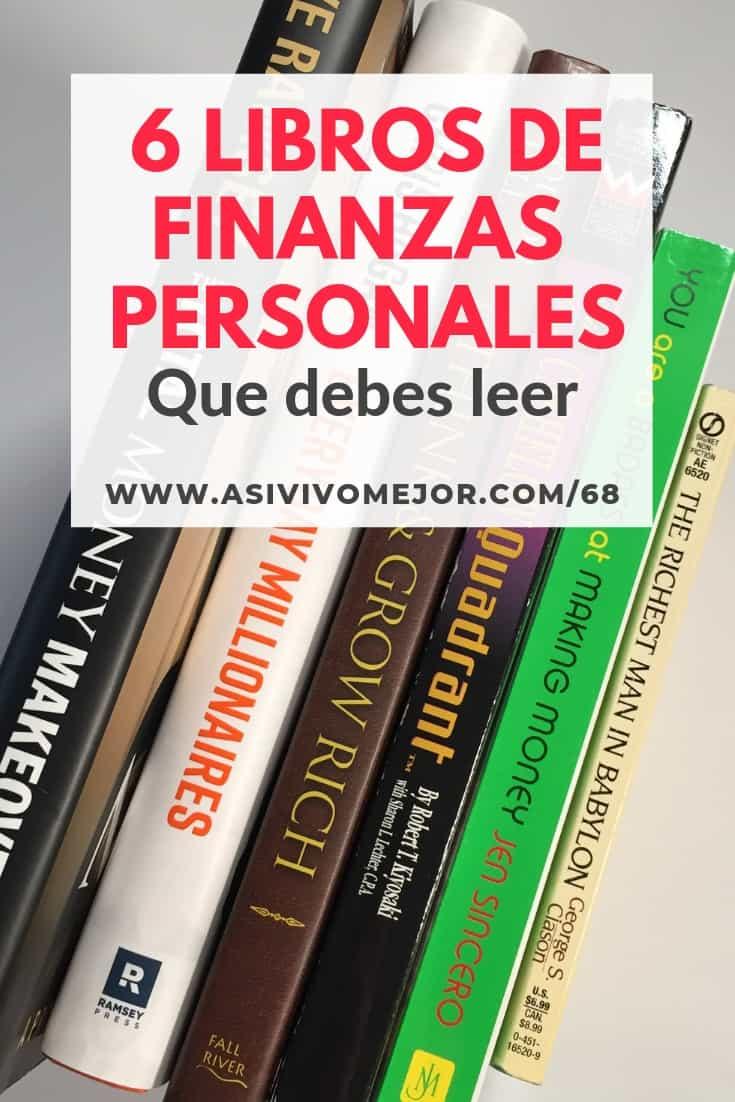 #68 Seis libros de finanzas personales que debes leer